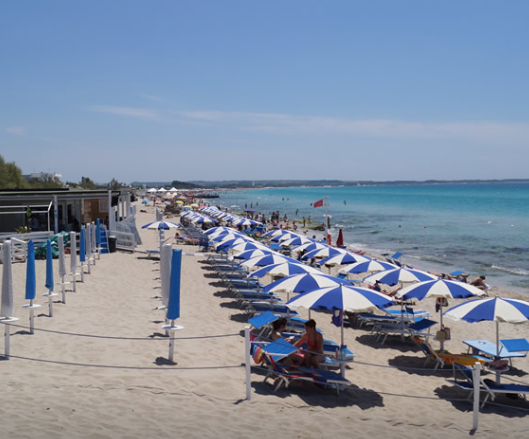 Gallipoli: Lido Blue Bay Salento, Puglia, Italia