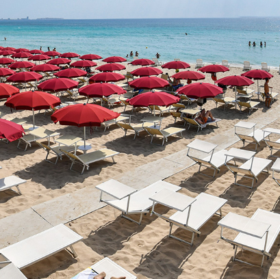 Lido Conchiglie: Iride beach