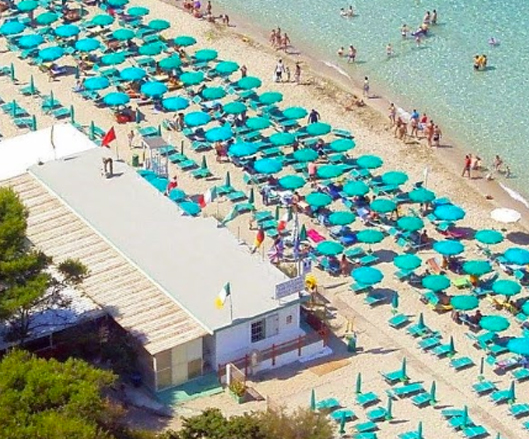 Lido Conchiglie: Lido Le Canne Beach
