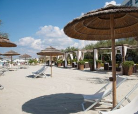 Gallipoli: White Beach Club Salento, Puglia, Italia